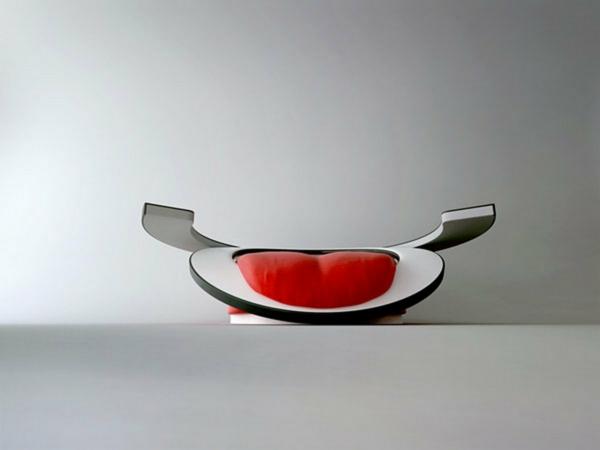 Une fauteuil design rouge l 39 expression des mes passionn es archzin - Fauteuil moderne design ...