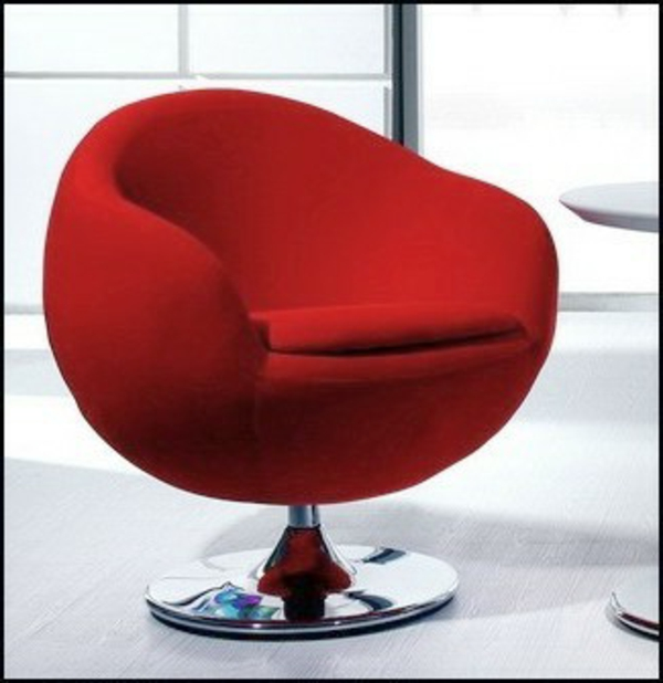 fauteuil-design-rouge-moderne-pied-chrome