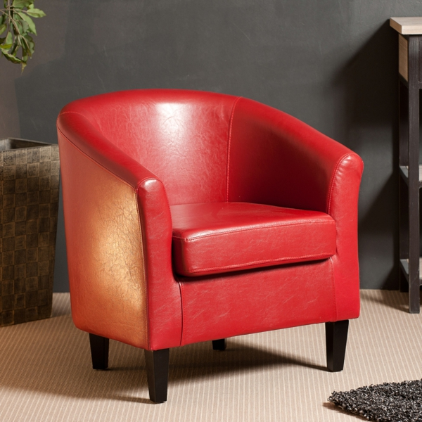 good fauteuil en cuir rouge 11 category homeezy. Black Bedroom Furniture Sets. Home Design Ideas