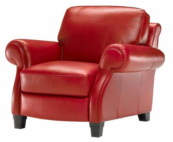 une fauteuil design rouge l 39 expression des mes. Black Bedroom Furniture Sets. Home Design Ideas