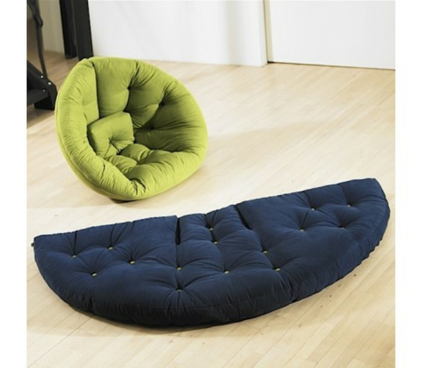 le pouf canap 40 id es. Black Bedroom Furniture Sets. Home Design Ideas