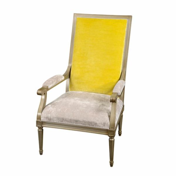 fauteuils-voltaire-fauteuil-en-jaune-et-beige