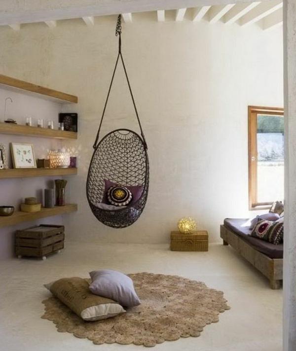 le fauteuil uf suspendu pour r ver et se sentir bien. Black Bedroom Furniture Sets. Home Design Ideas