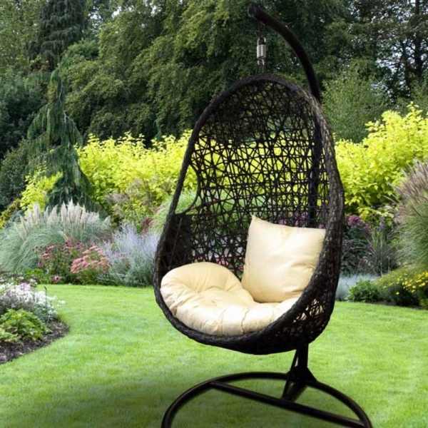fauteuil jardin suspendu. Black Bedroom Furniture Sets. Home Design Ideas