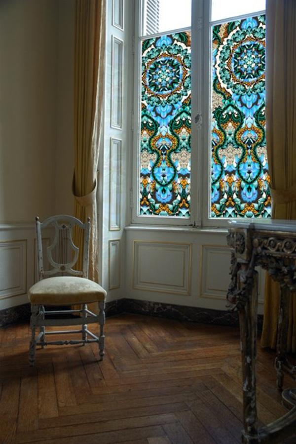 le film adh sif de vitrage est pour la d coration facile et jolie de vos fen. Black Bedroom Furniture Sets. Home Design Ideas