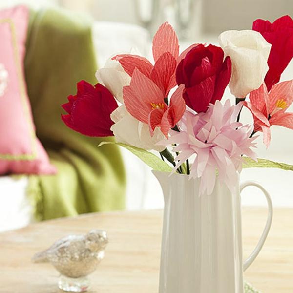 fleur-en-papier-crepon-bouquet