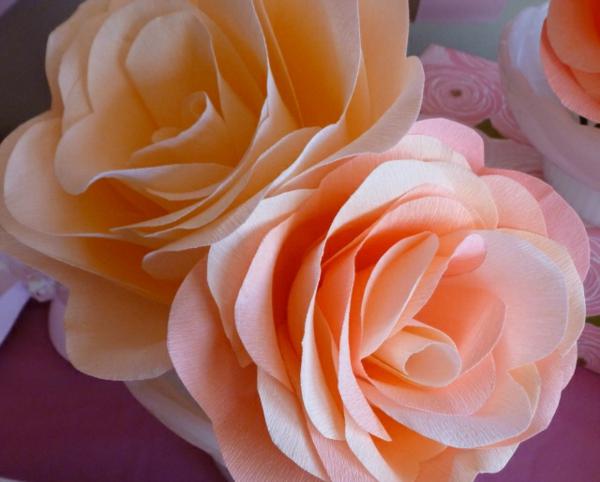 fleur-en-papier-crepon-rose-ballerina
