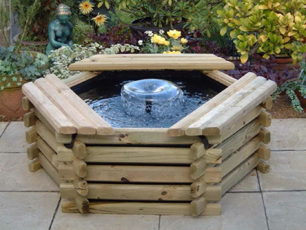 Une fontaine de jardin design quelques id es en photos fascinantes for Idee jardin design
