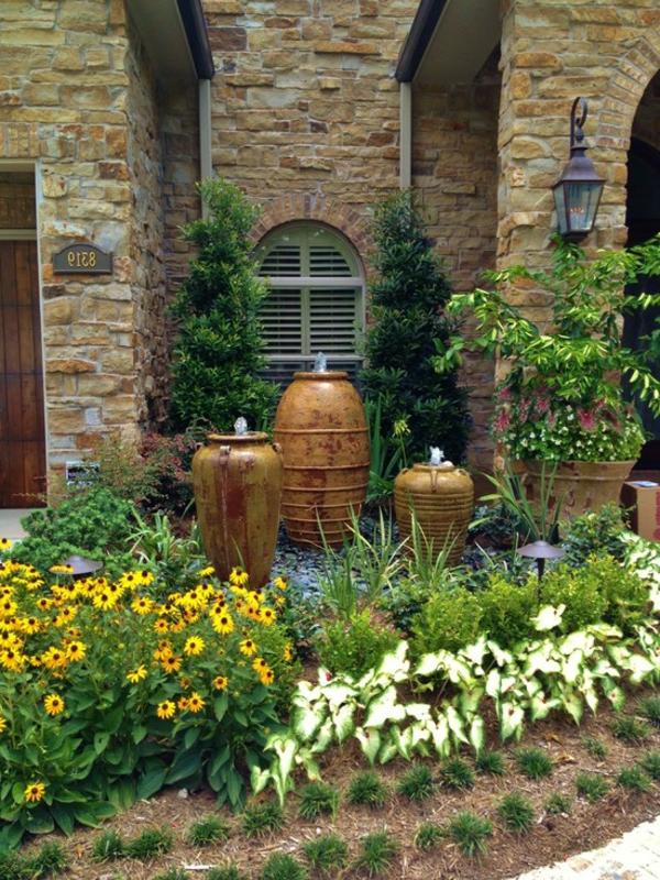 fontaine-de-jardin-design-trois-grands-pots-antiques