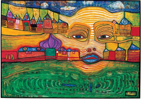 hundertwasser-tableau