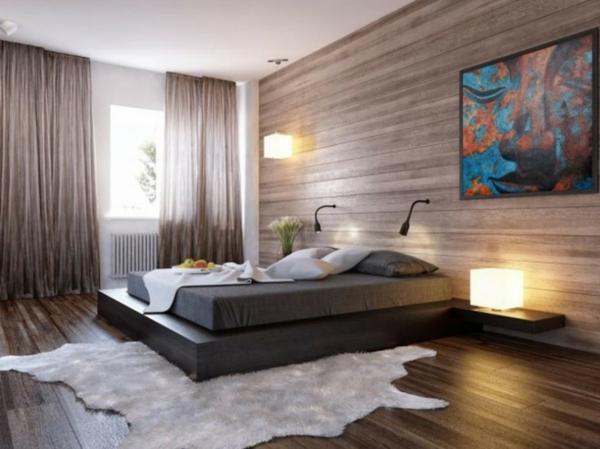 idée-peinture-de-chambre-adulte-en-beige-et-blanc