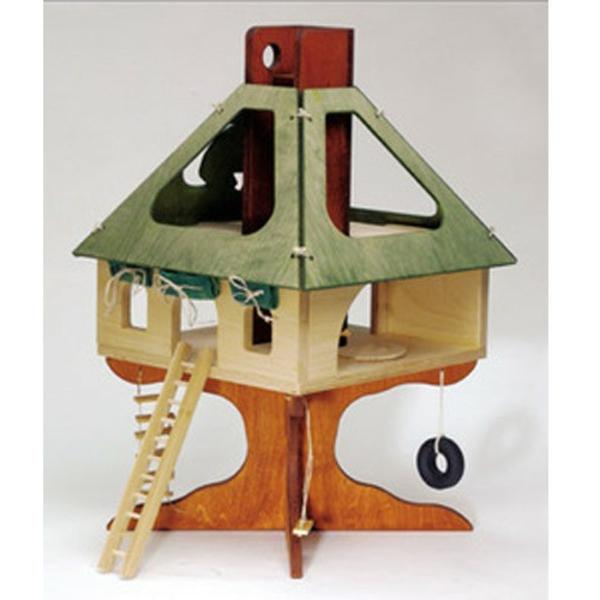 Le jouet maison en bois pour les moments inoubliables for Arbre maison jouet