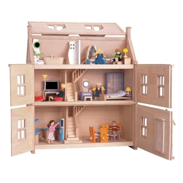 jouet-maison-en-bois-avec-figurines