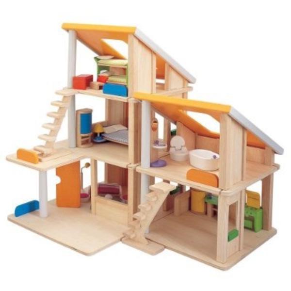 Le jouet maison en bois  pour les moments inoubliables à la maison!