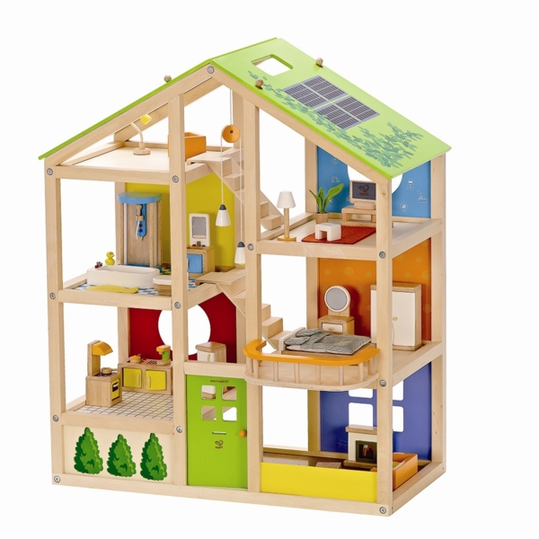 le jouet maison en bois pour les moments inoubliables. Black Bedroom Furniture Sets. Home Design Ideas