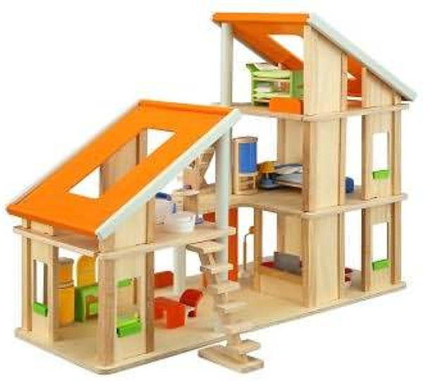 Le jouet maison en bois  pour les moments inoubliables à la maison!  Archzi