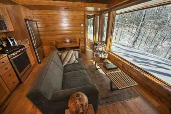 Vive la maison en bois la solution id ale pour les - Zen forest house seulement pour cette maison en bois ...
