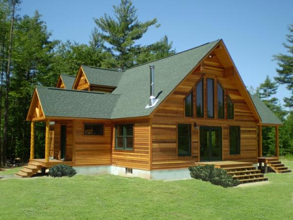Vive la maison en bois la solution id ale pour les adeptes de la tendence cologoque au - Maisons canadiennes ...
