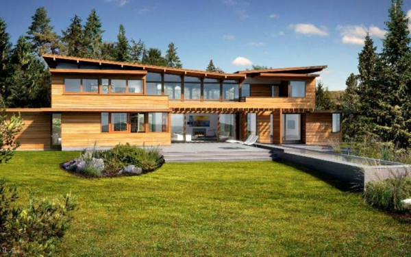 vive la maison en bois la solution id ale pour les adeptes de la tendence cologoque au. Black Bedroom Furniture Sets. Home Design Ideas