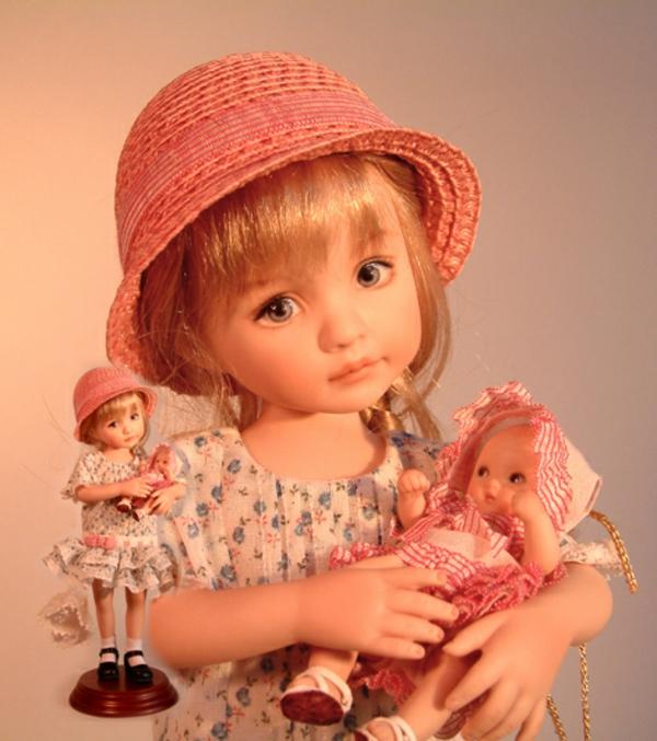 la-passion-pour-la-porcelaine-une-poupée-avec-un-chapeau-rose-mignonne