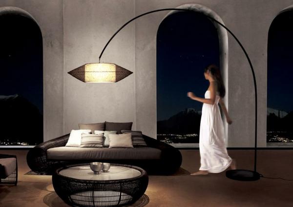 lampadaire-arc-élégant