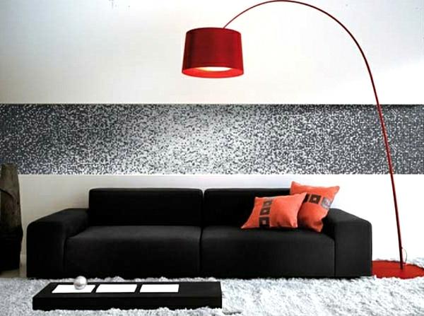 lampadaire-arc-rouge