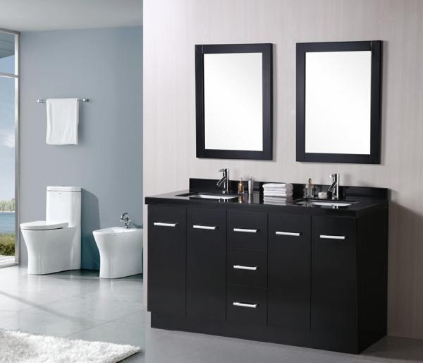 lavabo-double-noir-salle-de-bain-minimaliste-placard