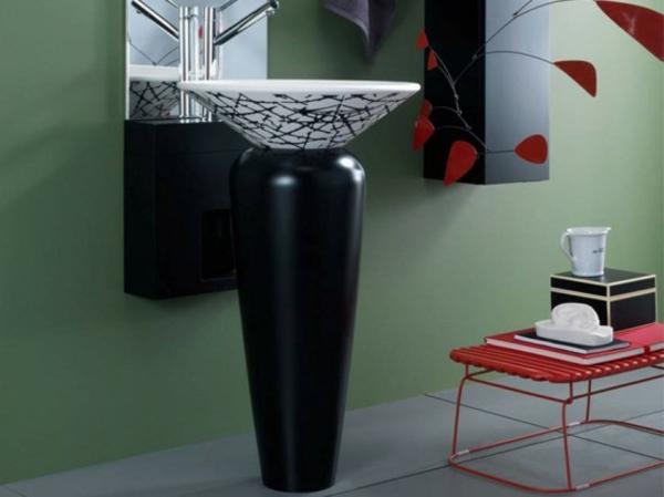 lavabo-noir-et-blanc-piedestale--salle-de-bain-moderne