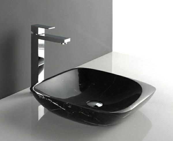 lavabo-noir-salle-de-bain-marbre