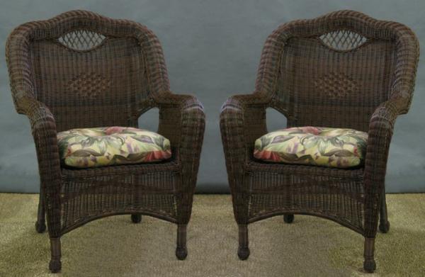 fauteuil-osier-deux-fauteuils-marron