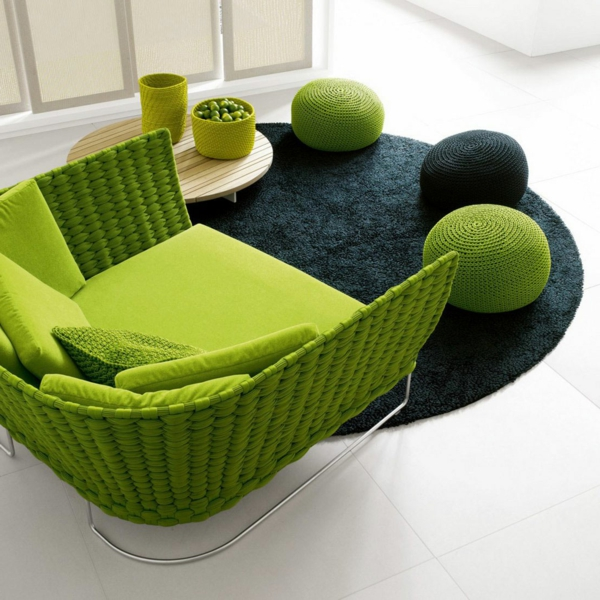 fauteuil-osier-vert