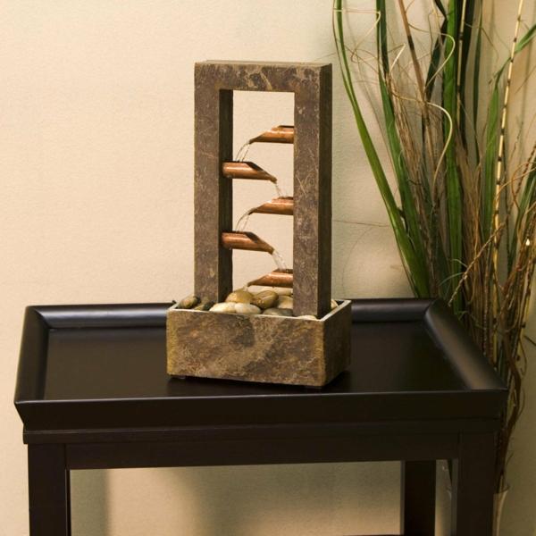 le-fontaine-d'intérieur-design-en-marbre-et-fer