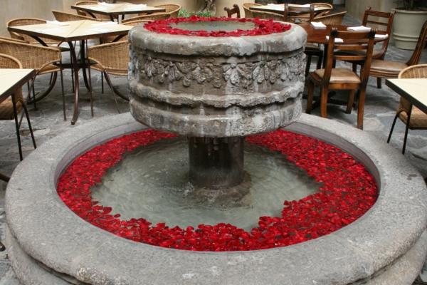 le-fontaine-d'intérieur-design-ronde