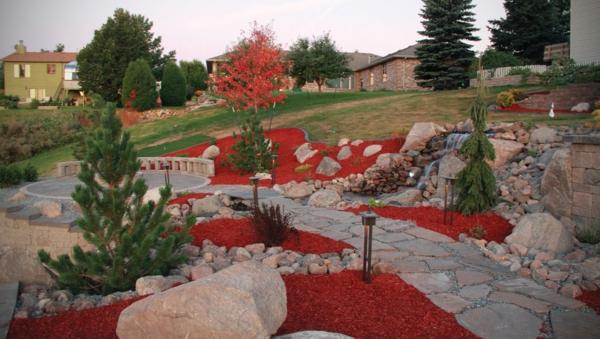 le-gravier-décoratif-rouge