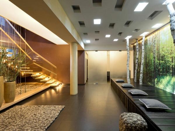 le-gravier-décoratif-un-hall-moderne