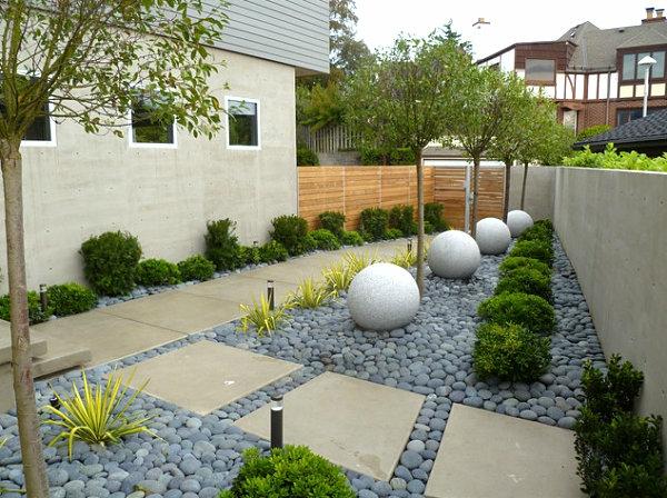 le-gravier-décoratif-un-jardin
