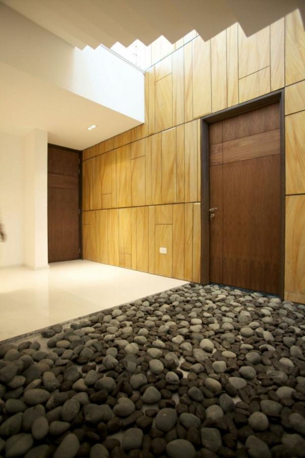 le-gravier-décoratif-un-hall-d'entrée
