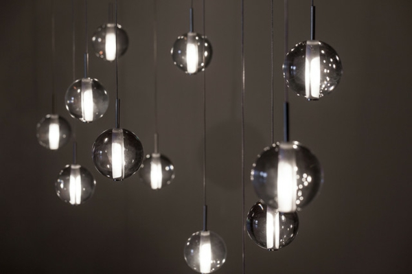 luminaire suspension boule verre. Black Bedroom Furniture Sets. Home Design Ideas
