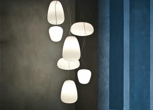 Quelques id es brillantes avec un luminaire suspendu - Plafonnier suspendu design ...