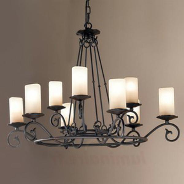 ✿ Un lustre rustique pour plus d'authenticité et de chaleur dans la maison