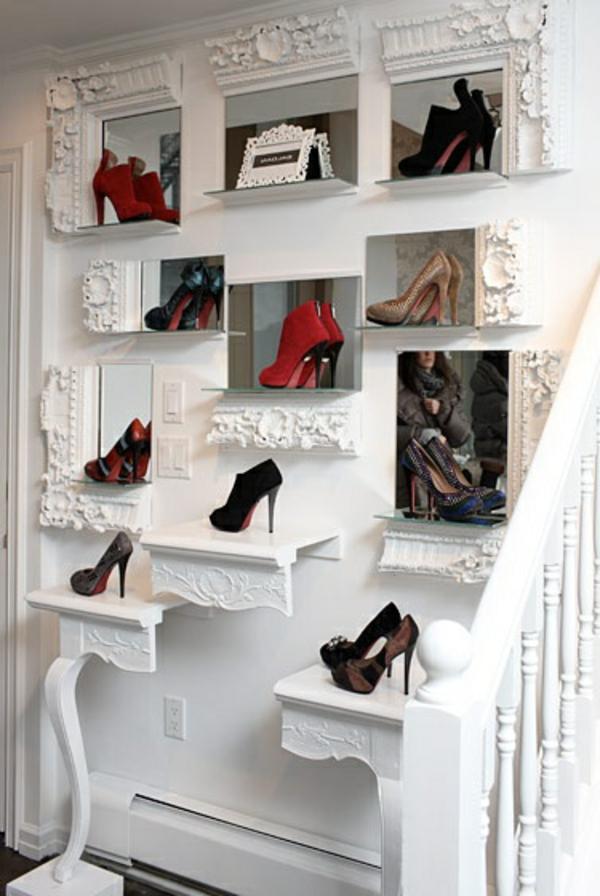 Le meuble chaussure design organise de petites expositions - Meuble a chaussure haut ...
