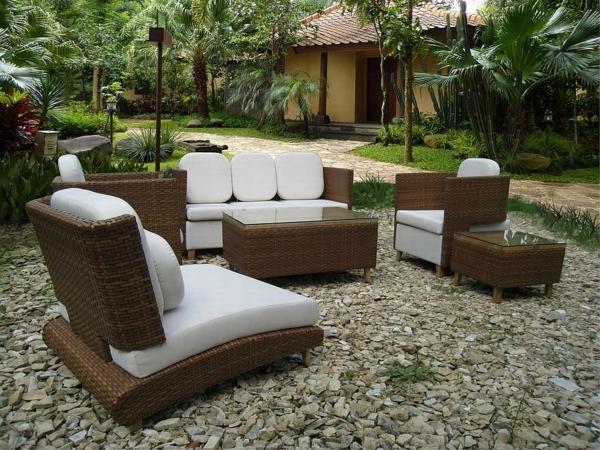Le meuble de jardin ikea crée des espaces jolis et confortables