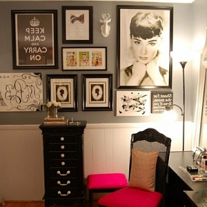 Le meuble de rangement de maquillage. Organisez vos trucs d'embellissement!