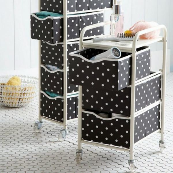 meuble-de-rangement-de-maquillage-mobile-faite-de-boîte-verticalement-disposées
