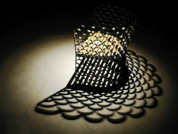 meuble-en-acier-chaise-originelle