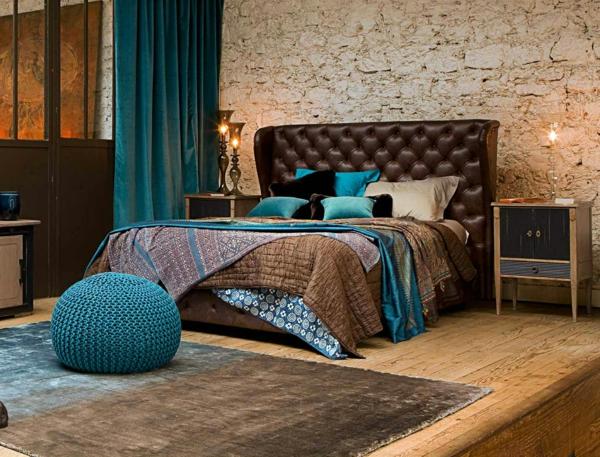 meuble-roche-bobois-chambre-à-coucher-bleue