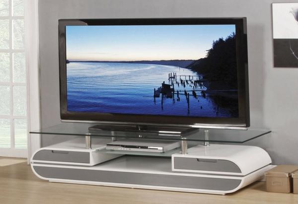meuble-tv-laqué-blanc-minimaliste