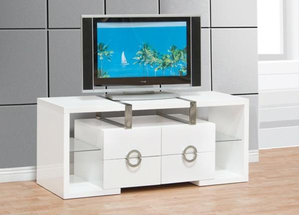 meuble-tv-laqué-blanc-avec-tiroirs