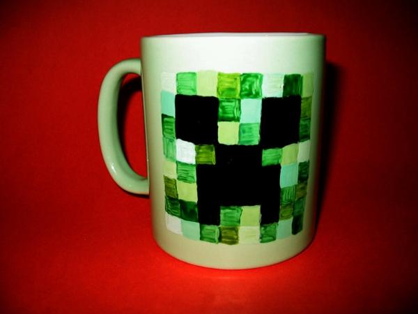 le-tasses-à-café-design-une-tasse-joliment-décoré