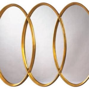 Le miroir triptyque - un style élégant et bien connu